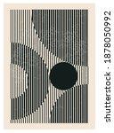 Minimal 20s Geometric Design...