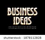 vector elite logo business... | Shutterstock .eps vector #1878112828