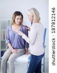 auscultation  woman | Shutterstock . vector #187812146