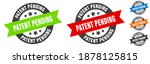 Patent Pending Stamp. Patent...