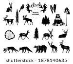 vector christmas illustration.... | Shutterstock .eps vector #1878140635