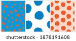 simple irregular geometric... | Shutterstock .eps vector #1878191608