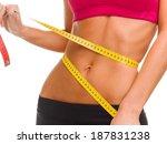 sport  fitness and diet concept ... | Shutterstock . vector #187831238
