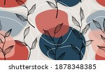 seamless pattern with abstract...   Shutterstock .eps vector #1878348385
