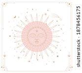 vector illustration set of moon ...   Shutterstock .eps vector #1878456175