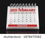 3d Illustration. Calendar   ...
