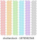 abstract triangular patterns....   Shutterstock .eps vector #1878582568