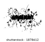 abstract floral background ... | Shutterstock . vector #1878612