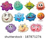 illustration of the different... | Shutterstock .eps vector #187871276