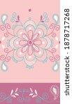 pretty floral ornate...   Shutterstock .eps vector #1878717268