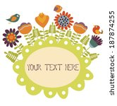 greeting card | Shutterstock .eps vector #187874255