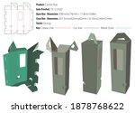 carrier box packaging design... | Shutterstock .eps vector #1878768622