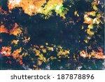 vector grunge background texture | Shutterstock .eps vector #187878896