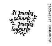 lettering. translation from...   Shutterstock .eps vector #1878942052