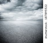 background of road with sky | Shutterstock . vector #187895522