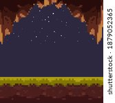 old style pixel game. pixel art ...