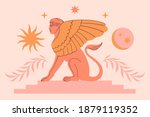 abstract contemporary aesthetic ...   Shutterstock .eps vector #1879119352