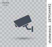 cctv icon. vector illustration...