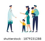 doctor's appointment with... | Shutterstock .eps vector #1879231288