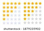 five stars customer product... | Shutterstock .eps vector #1879235902