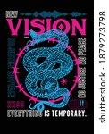 vision t shirt print design... | Shutterstock .eps vector #1879273798