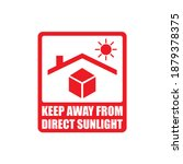vector keep away from direct... | Shutterstock .eps vector #1879378375