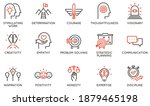vector set of linear icons... | Shutterstock .eps vector #1879465198