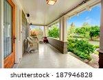 entrance column porch with... | Shutterstock . vector #187946828