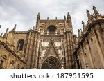 Cathedral of Saint Mary of the See (Seville Cathedral), Roman Catholic cathedral in Seville,Spain. It is the largest Gothic cathedral and the third-largest church in the world.