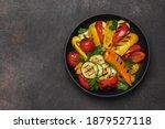 Variety Of Grilled Vegetables...
