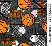 abstract seamless grunge sport... | Shutterstock .eps vector #1879532332