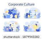 corporate culture concept set.... | Shutterstock .eps vector #1879543282