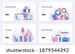 brand web banner or landing... | Shutterstock .eps vector #1879544392