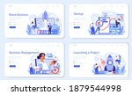 business boost web banner or... | Shutterstock .eps vector #1879544998