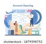 offshore specialist concept.... | Shutterstock .eps vector #1879598752