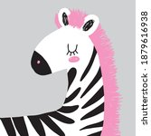 simple hand drawn nursery art... | Shutterstock .eps vector #1879616938