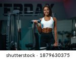 Muscular Young Fitness Sports...