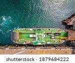 Aerial View Of Mallaig  A Port...