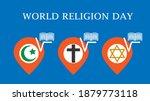 world religion day concept....   Shutterstock .eps vector #1879773118