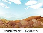 illustration of the big brown... | Shutterstock . vector #187980722