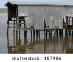 old boathouse | Shutterstock . vector #187986