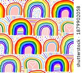 beautiful bright colorful...   Shutterstock .eps vector #1879902058