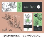 vector specialty coffee package.... | Shutterstock .eps vector #1879929142