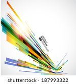abstract technology lines... | Shutterstock .eps vector #187993322