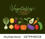 vegatables healthy and... | Shutterstock .eps vector #1879948528