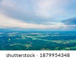 landscape aerial view from hot... | Shutterstock . vector #1879954348