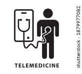 online doctor icon ... | Shutterstock .eps vector #1879977082