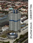 Постер, плакат: BMW headquarters building the
