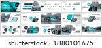 abstract white  green slides....   Shutterstock .eps vector #1880101675