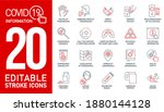 information coronavirus covid19 ...   Shutterstock . vector #1880144128